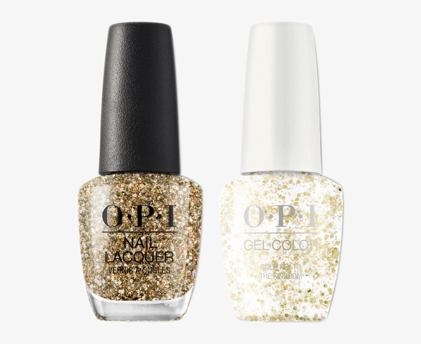 Opi Gelcolor And Nail Lacquer 3, Nutcracker Collection, - Opi Gold Key To The Kingdom, transparent png #3031524