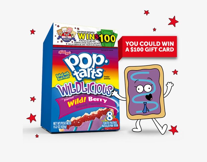 Kellogg's Pop Tarts Wild Berry, transparent png #3036298