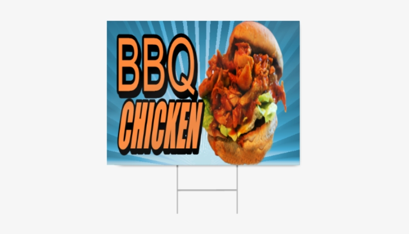 Bbq Chicken Sign - Fast Food, transparent png #3036584