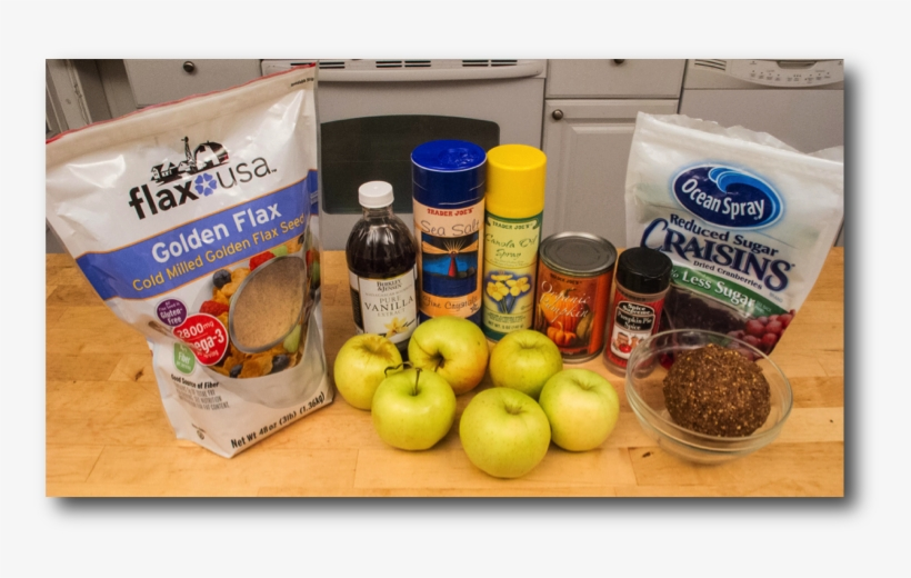 Apple Pumpking Pie Ingredients - Flax Usa Cold Milled Golden Flax Seed - 48 Oz Bag, transparent png #3041836
