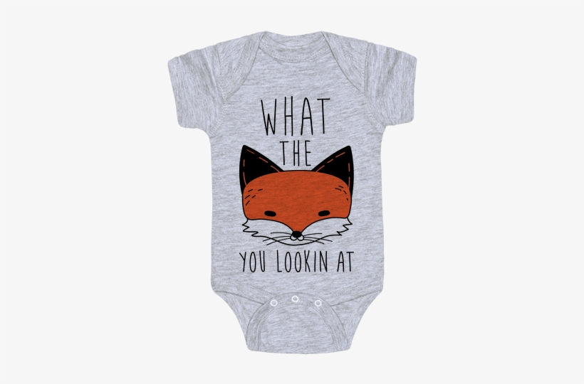 What The Fox You Lookin At Baby Onesy - Taylor Swift Baby Onesies, transparent png #3042486