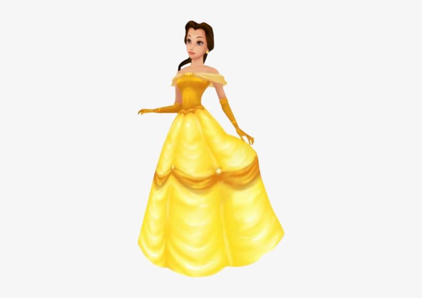 Belle In Kingdom Hearts - Princess Belle Kingdom Hearts, transparent png #3043882