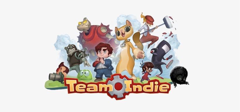 Team Indie Unites Indie Video Game Characters Into - Indie Video Game Characters, transparent png #3044557
