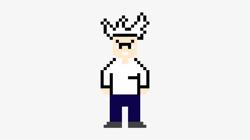 Mad Scientist - Mad Scientist Pixel Png, transparent png #3045073
