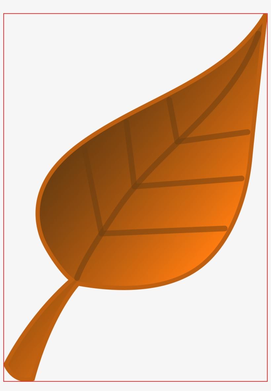 Lovely Fall Leaf Border Resume Pdf - Brown Leaf Clip Art, transparent png #3045524