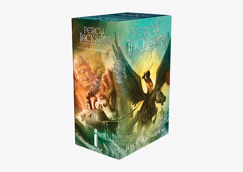 Box Percy Jackson E Os Olimpianos - Sea Of Monsters (percy Jackson, transparent png #3046832