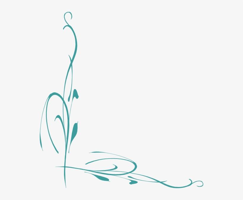 Jade - Green Vine Border, transparent png #3047343