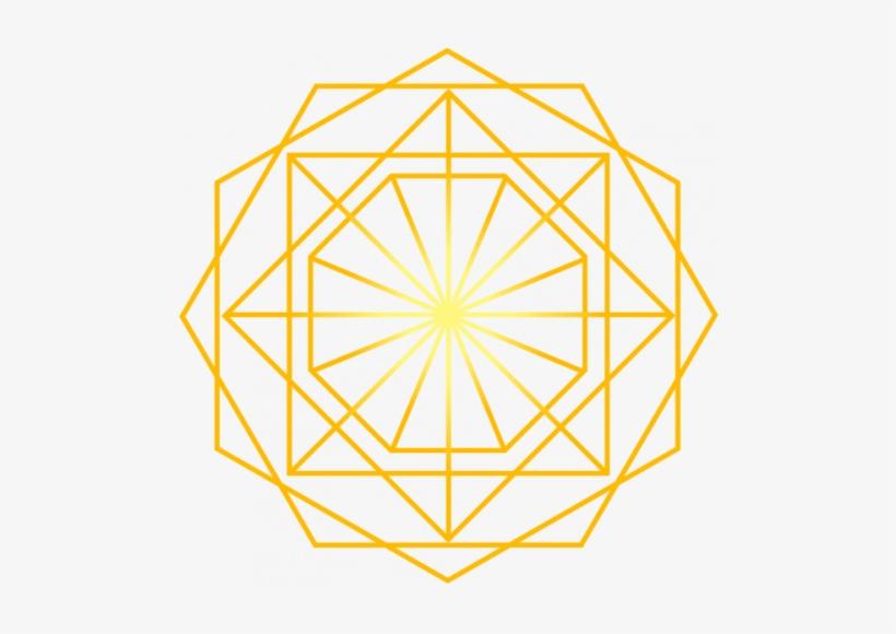 29 Apr 2018 - Gold Geometric Pattern Line, transparent png #3047521