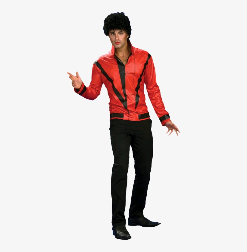 Michael Jackson Thriller Jacket Deluxe Adult Costume - Movie Characters Costumes Male, transparent png #3048999