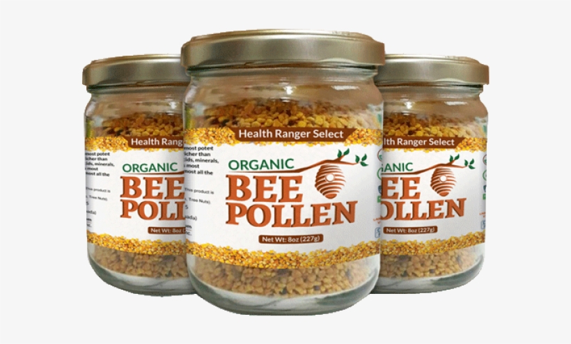 Bee Pollen - Health Ranger Select Organic Bee Pollen 8oz (227g), transparent png #3051292