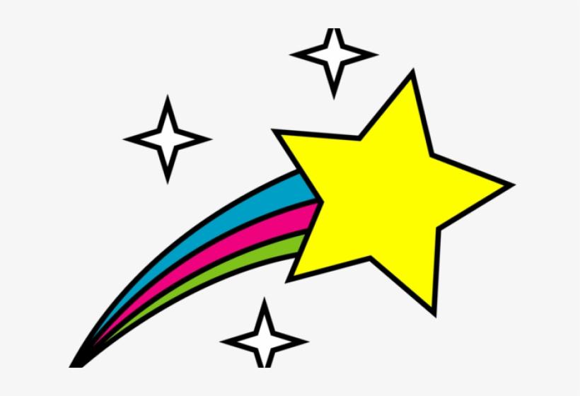 Shooting Star Vector Free Download - Transparent Transparent