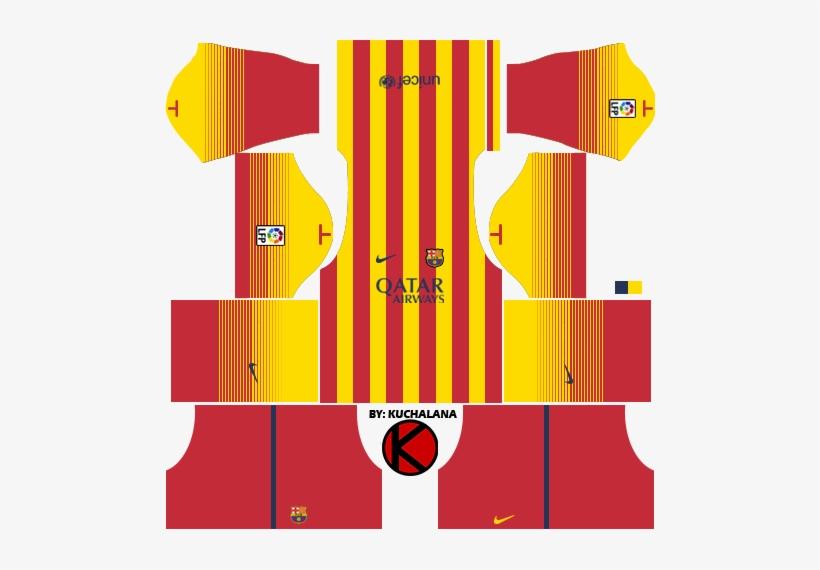 Dls 16 Kits Barcelona - Free Transparent PNG Download - PNGkey