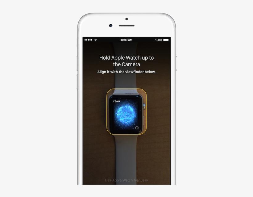 Watch Iphone Setup Pair - Apple Watch Pairing Orb, transparent png #3055294