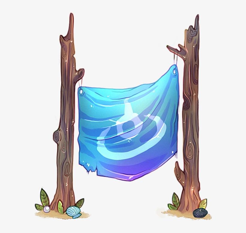 Fjqrliq - Flight Rising Water Flight Banner, transparent png #3055541