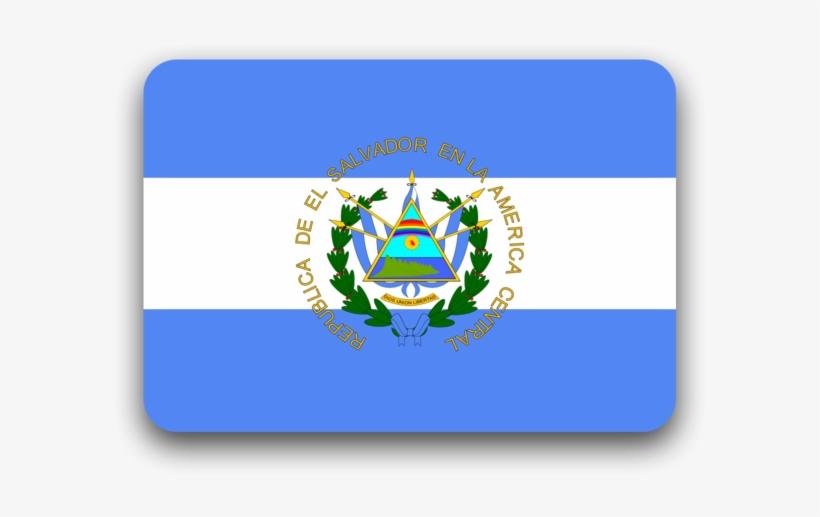 Bandera De El Salvador - De Que Pais Es El Codigo 503, transparent png #3056503