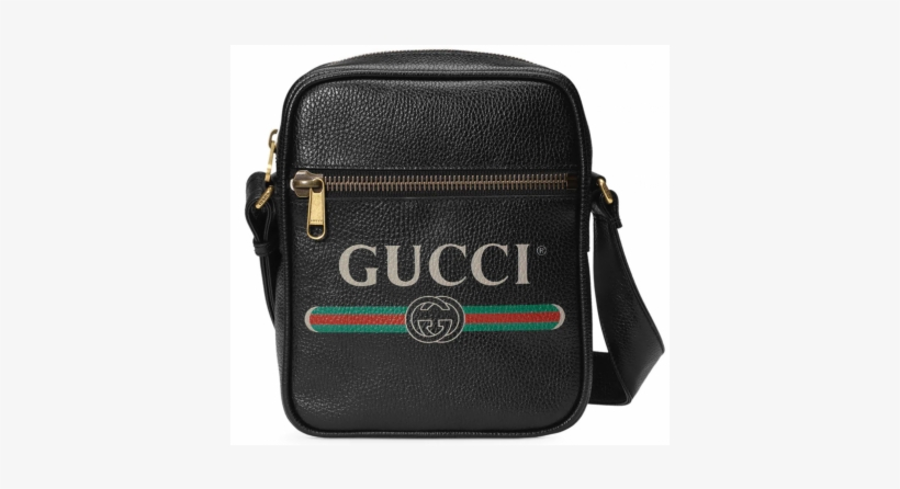 Gucci Print Messenger Gucci Crossbody Bag Man Free Transparent