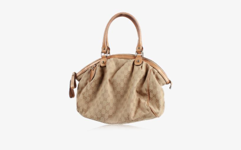 Beige Gucci Bag Tote Bag Free Transparent Png Download Pngkey
