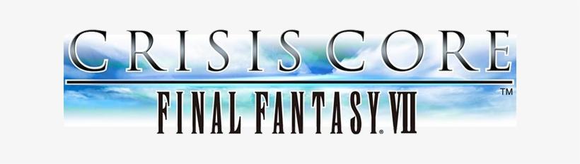 Final Fantasy Vii Crisis Core - Crisis Core Final Fantasy Vii Logo Png, transparent png #3064371