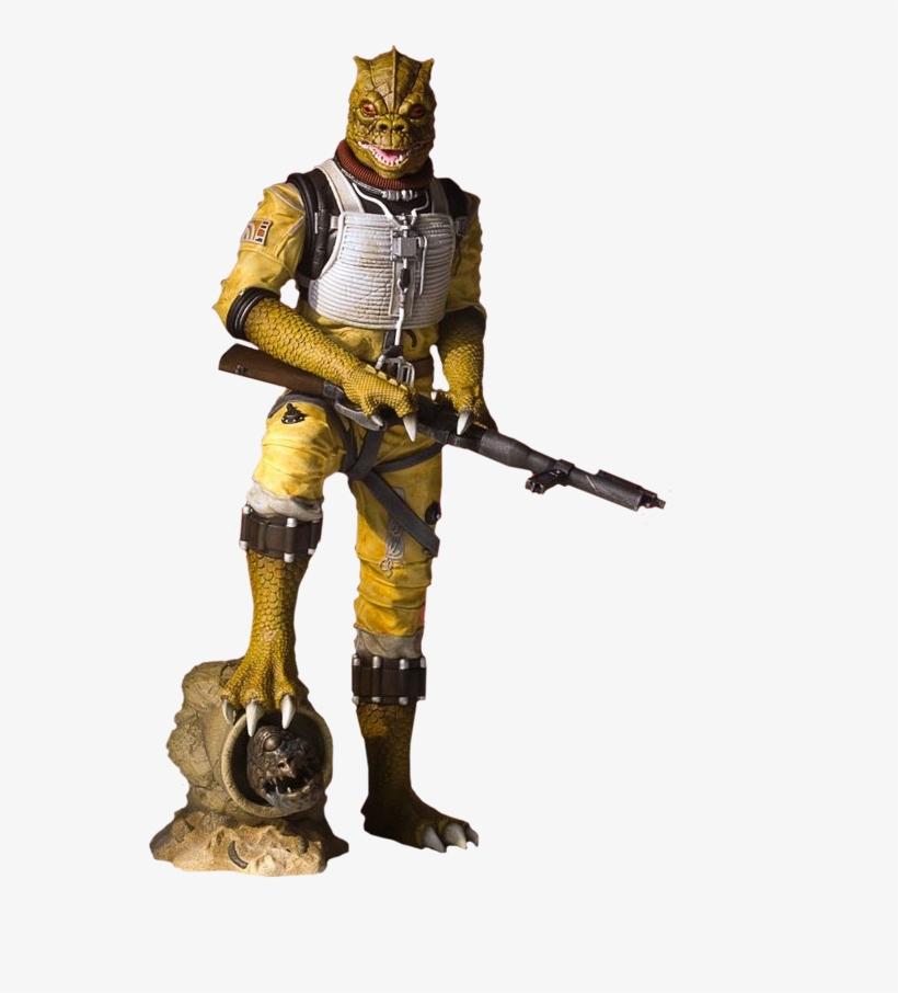 Star Wars Episode V - Star Wars Collectors Gallery Statue 1/8 Bossk 24 Cm, transparent png #3064692