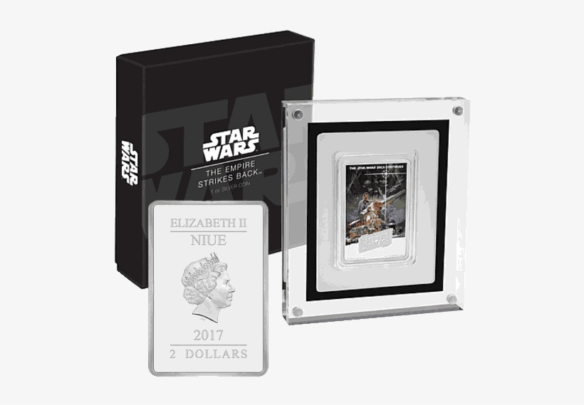Silver Numismatic Star Wars Empire Strikes Back 1oz - 2017 Star Wars - The Empire Strikes Back 1oz Silver, transparent png #3065384