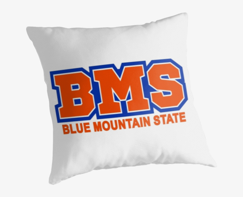 """Bms Blue Mountain State"""" Throw Pillows By Michellegriff90 - Faze Clan, transparent png #3067566"""