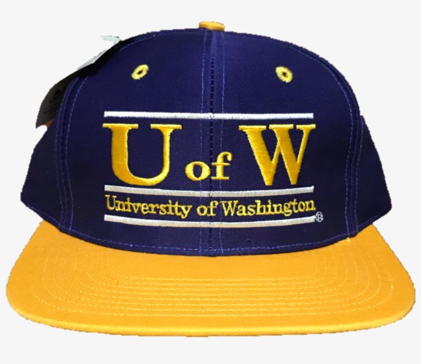 929e0b1dc541d University Of Washington Huskies Vintage Snapback Hat - Baseball Cap ...