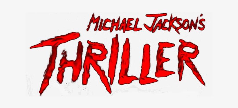 Logo For Michael Jackson's Thriller - Michael Jackson Thriller Logo, transparent png #3069525