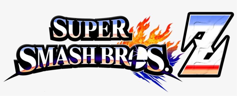 Super Smash Bros Z Revamped Logo By Kingasylus91 Super - Super Smash Bros. For Nintendo 3ds And Wii U, transparent png #3071572