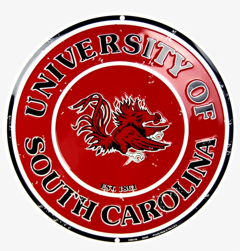 South Carolina Gamecocks Circle Sign - Hangtime South Carolina Gamecocks Circle Sign, transparent png #3071841