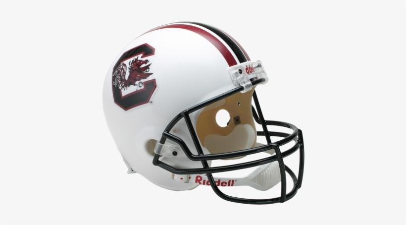 South Carolina Fighting Gamecocks Ncaa Replica Full - University Of Wyoming Football Helmet, transparent png #3071931