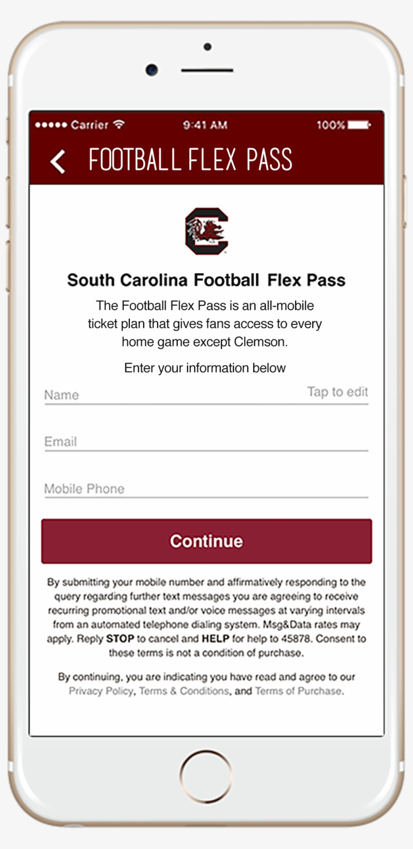 Fans Choose The Matchup And The Quantity Of Passes - South Carolina Gamecocks Football, transparent png #3072092