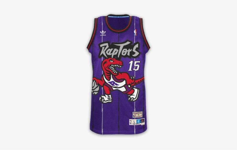 buy popular 20210 7a66e Toronto Raptors - Vince Carter Raptors Jersey - Free ...