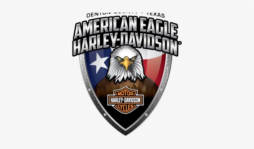 American Eagle Hd - Harley Davidson With Eagles, transparent png #3072979
