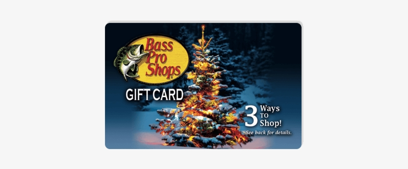 Bass Pro Shop Gift Certificates Super Santa Giveaway - Christmas Tree E-gift Card, transparent png #3074077