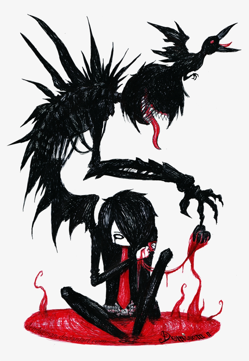 Emo Drawings Favourites By Deathlyflames On Clipart Man