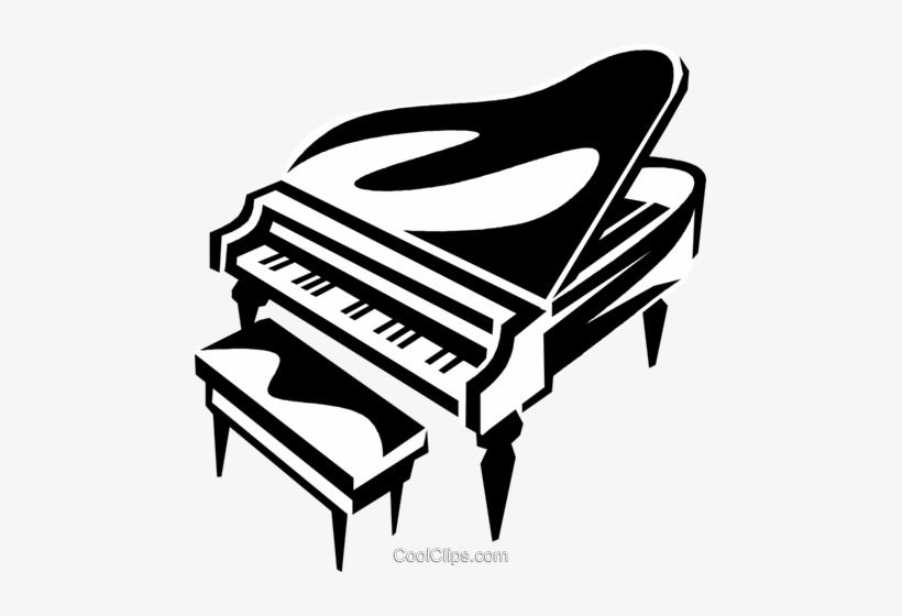 Grand Piano Royalty Free Vector Clip Art Illustration Transparent Piano Clip Art Free Transparent Png Download Pngkey