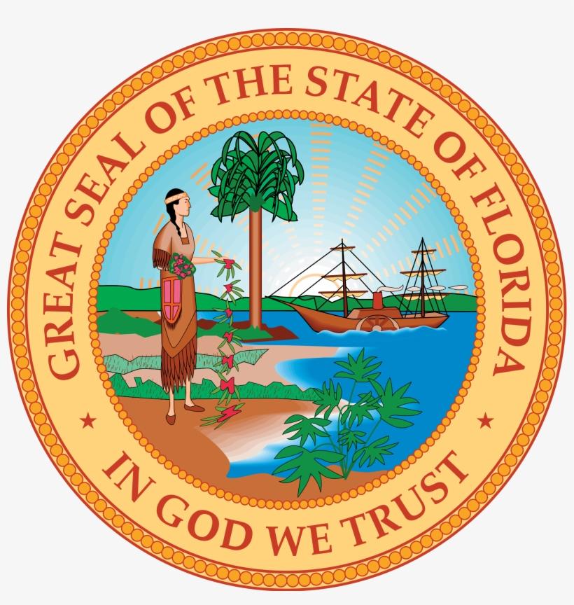 Florida - Florida State Seal - Free Transparent PNG Download - PNGkey