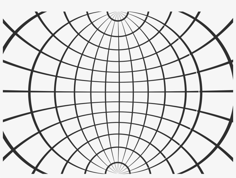 Projected Globe Wireframe White Wire Globe Png - Wireframe Globe, transparent png #3079649