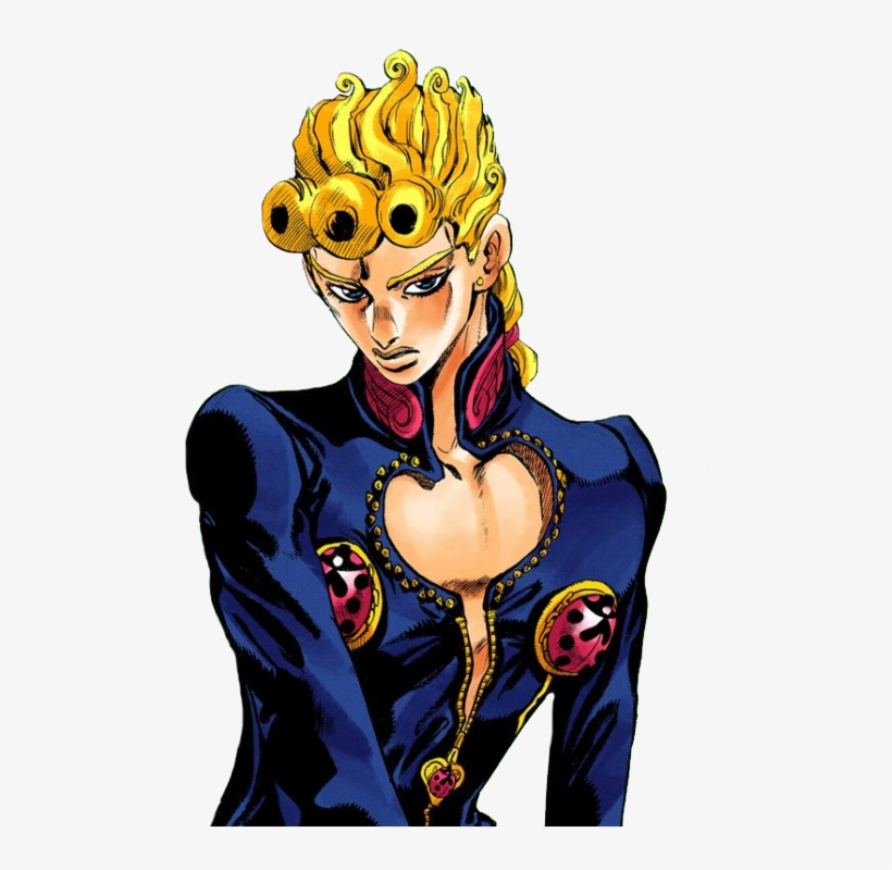 8683012 Giorno Giovanna Hair Png Free Transparent Png