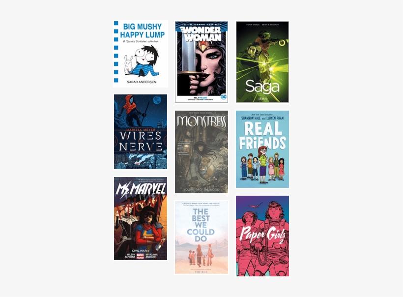 2017 Goodreads Choice Awards - Ms. Marvel Vol. 6: Civil War Ii, transparent png #3083459