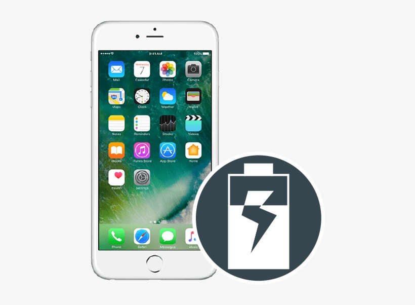 Iphone 6s Plus Battery Replacement - Apple Iphone 7 Plus 32gb Simfree  Mobile Phone - Gold - Free Transparent PNG Download - PNGkey
