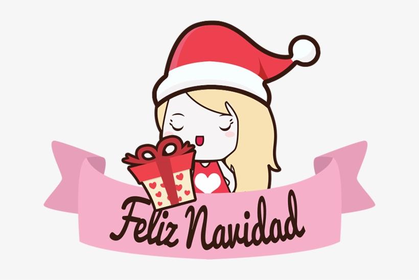 How To Draw Christmas Holiday Pusheen Cat Step By Step - Imagenes De Navidad Animadas Kawaii, transparent png #3083700