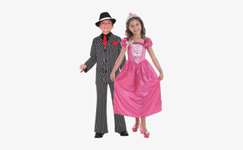 Kids Fancy Dress - Boy Gangster Costume, transparent png #3085684