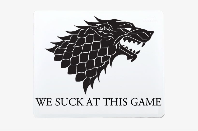 House Stark Game Of Thrones Winter Is Coming Logo Free Transparent Png Download Pngkey