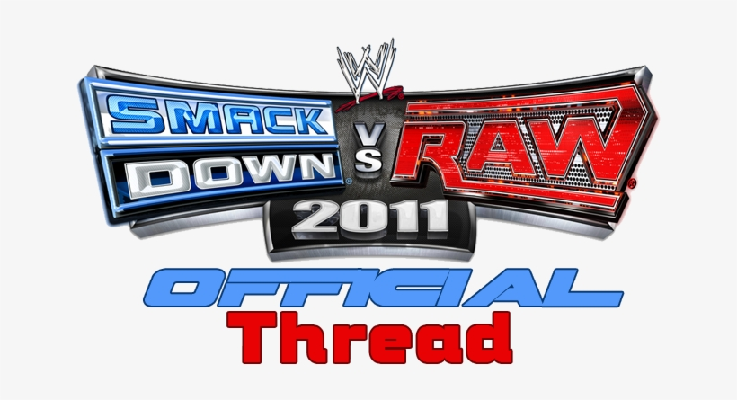 Banned - Wwe Smackdown Vs Raw 2011 Logo, transparent png #3087555