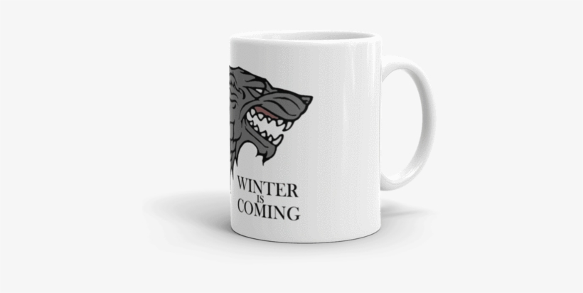 House Stark Coffee Mug - Game Of Thrones 2 1/4-inch House Stark Magnet, transparent png #3087744