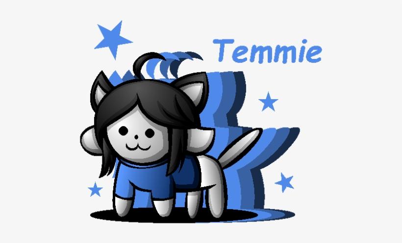 Temmie Personality - Undertale Temmie Blue - Free