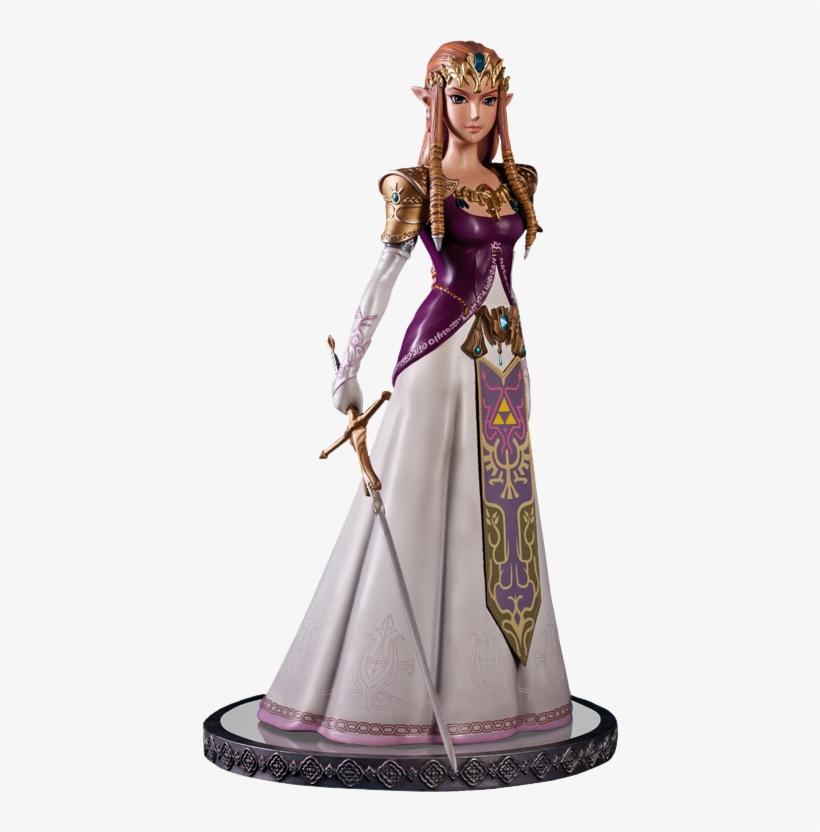 Nintendo Polystone Statue Twilight Princess Zelda - Twilight Princess Zelda 1/4 Scale Statue, transparent png #3088154