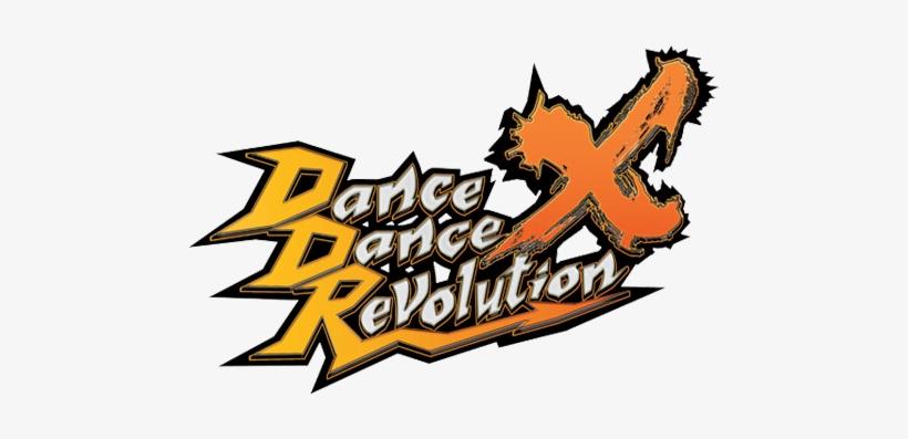 Forums/ddrxlogo - Dance Dance Revolution X Logo, transparent png #3090296
