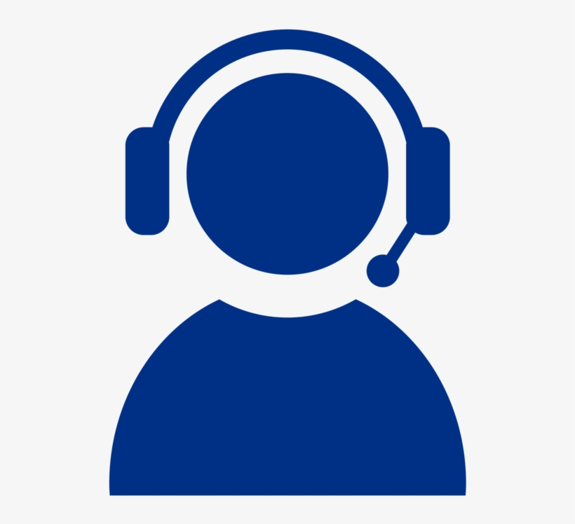 Free Download Customer Support Icon Blue Clipart Customer - Customer Service Agents Icon, transparent png #3095068